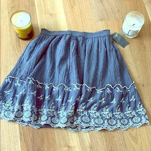 Beautiful grey skirt